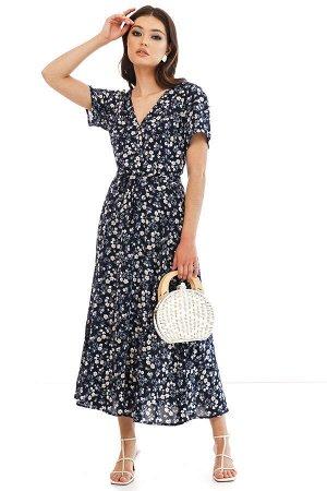 Платье Элегантное и модное платье, которое прекрасно подойдет для офиса, прогулки и свидания! Хорошо сочетается с каблучком и с обувью на низком ходу! *Хит этого сезона - платье длины миди из натурал