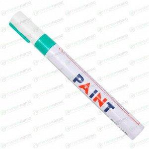 Маркер эмалевый Sipa Paint Marker, зелёный, перманентный, для различных поверхностей, 4мм