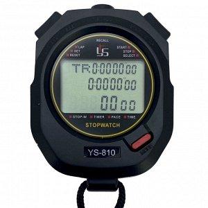 Электронный секундомер YS 810 с дисплеем на 3 строки - специальная версия для тревожного чемоданчика №4