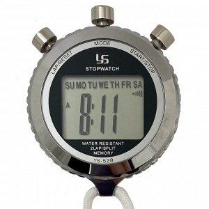 Точный электронный секундомер YS 528 - портативный таймер для спорта и военного дела. Входит в экстренный набор тревожного чемоданчика №2