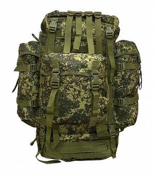 Армейский экспедиционный рюкзак (100 литров, цифра) - (CH-096) Рюкзак снабжен непромокаемым дождевым чехлом. Регулируемые эргономичные плечевые ремни и спинка с дышащей сеткой. Доступ к основному отде