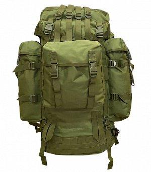 Большой экспедиционный рюкзак (100 литров, олива) - (CH-096) Большой экспедиционный рюкзак создан для многодневных автономных переходов. Объем рюкзака - 100 литров, позволяет взять с собой максимально