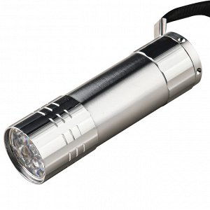 Карманный LED-фонарик (серебристый) - Фонарик очень экономно расходует заряд батареек, даже если вы используете ежедневно. Достаточно прочный корпус устойчив к падениям, царапинам, сколам. Оптимальный