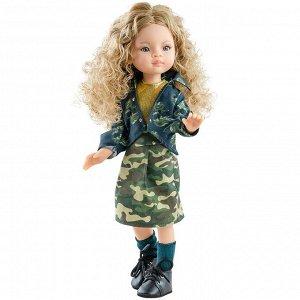 04851 Кукла Маника, 32 см, шарнирная