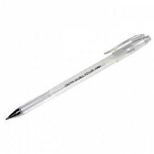 Ручка гелевая пастель белая, 0,8мм