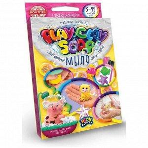 """Набор для мыловарения Danko toys """"Play Clay Soap. Набор №4"""", 4 цвета, 65г"""
