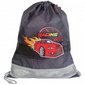 """Мешок для обуви 1 отделение MagTaller XL """"Racing red"""", 340*460мм"""