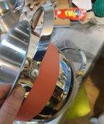 Кастрюля с силиконовыми кольцами Victoria 4,2 л