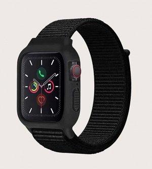 Нейлоновый ремешок для Apple Watch, 38-40mm с защитным корпусом силикон