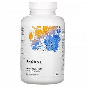 Thorne Research, мультивитамины для мужчин старше 50 лет, 180 капсул