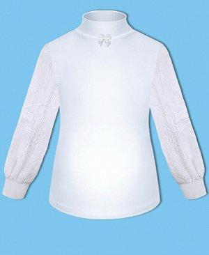 Белая водолазка для девочки Цвет: белый