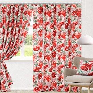 Комплект штор для гостиной, кухни Раджа 200х270 см, 777-3085/2