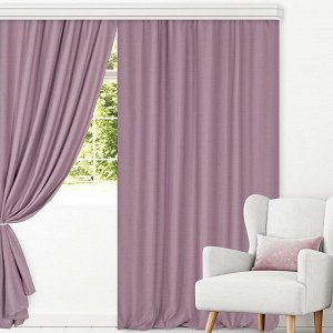 Комплект штор для гостиной, кухни Роуз лофт 200х270 см - 2 шт, 777-5270/1