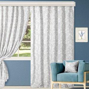 Комплект штор для гостиной, кухни Ариан Грэй 200х270 см, 777-3062/1