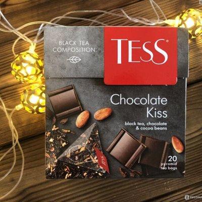 Горячий шоколад с сиропом! Раздача за 1день — Tess черный(пакетированный)