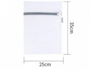 Мешок для стирки , с тонкой сеткой, в форме прямоугольника, мини размера, цвет белый