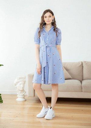 Платье /синяя полоска