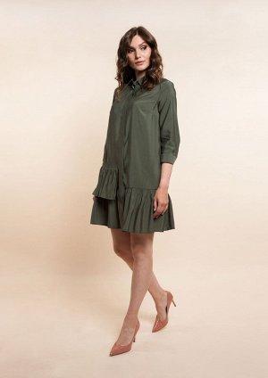 Платье /зеленый
