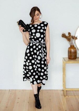 Платье /черно-белый