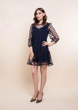 Платье /синий