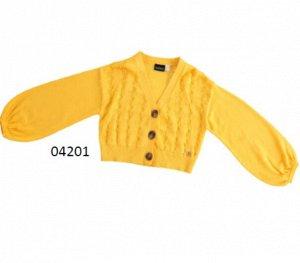 Кардиган 1626/желтый, 3811/голубой Наименование: кардиган Состав: 100% хлопок
