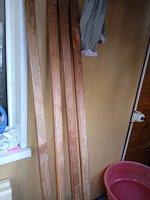 Стеллаж деревянный, 73?30?170см, морёные стойки