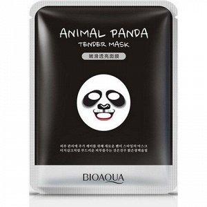 Bio Смягчающая  маска для лица  Animal Face Panda, 30ГР