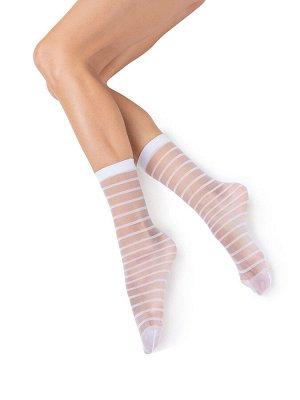 Фантазийные эластичные носочки с рисунком