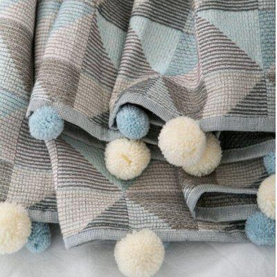 💥 Срочно!1000скидок! Текстиль для дома, одежда. Качество Турция — НОВИНКИ! Спец-цена! Покрывала: кружево, помпоны,100% хлопок