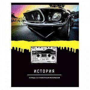 "Тетрадь 48л ""Neon hype"" по истории 9199 BG {Россия}"