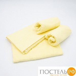 Набор детских пеленок фланель 4 шт 75/120 см Желтый
