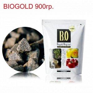 BIOGOLD органические удобрения. Вес  900гр. Прессованые гранулы. Для всех типов растений, в том числе бонсаи и орхидей.