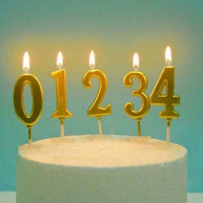 PARTY-BOOM — все для твоего праздника и куража! Шары — Свечи для торта - 2