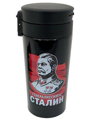 """Термостакан с принтом """"Генералиссимус Сталин"""" №16"""