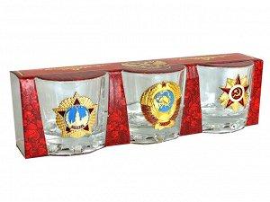 Подарочные стопки в наборе «Страна Советов» – суровая ностальгическая эстетка на подарок мужчине