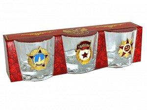 Набор стопок «Великая Советская Эпоха» – эксклюзивный декор известными наградами СССР