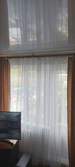 Вуаль белоснежная с утяжелителем 4м  (ткань Турция Luxe)