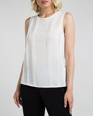 Блузка-топ жен. (110602) белый натуральный