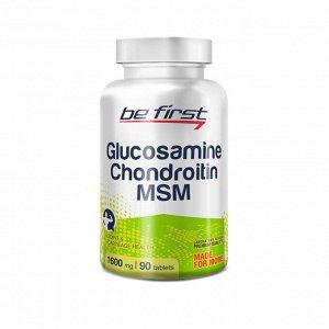 Для суставов и связок Be First Glucosamine+Chondroitin+MSM 90 tab