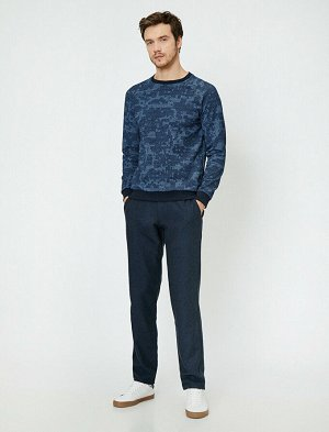 брюки Материал: %50 Polyester, %20 Y?n, %15 Akrilik, %10 Viskoz, %5 Хлопок Параметры модели: рост: 189 cm,грудь: 99,талия: 75,бедра: 99 Modelin Bedeni: 42