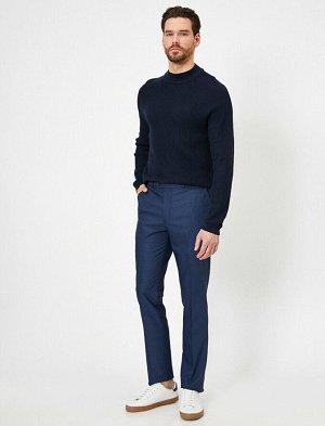 брюки Материал: %76 Polyester, %20 Viskoz, %4 Elastan Параметры модели: рост: 187 cm,грудь: 97,талия: 80,бедра: 93 Modelin Bedeni: 42