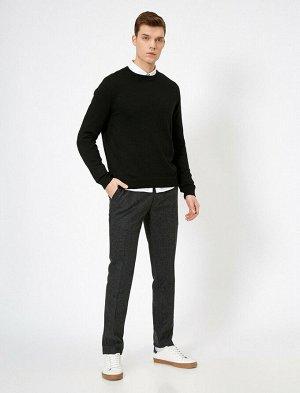 брюки Материал: %58 Akrilik, %29 Polyester, %7 Хлопок, %3 Viskoz, %3 Y?n Параметры модели: рост: 188 cm,грудь: 99,талия: 75,бедра: 95 Modelin Bedeni: 42