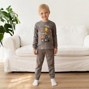 Пижама детская с принтом (интерлок)