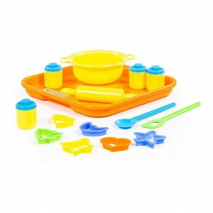 Набор детской посуды для выпечки №1 с подносом