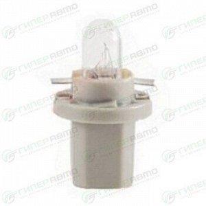 Лампа LYNXAuto BAX (B8.5d gray, T5), 24В, 1.2Вт, комплект 10 шт (стоимость за упаковку 10 шт)