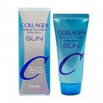 Collagen Moisture Sun Cream SPF50+ PA+++ Enough Увлажняющий солнцезащитный крем с коллагеном
