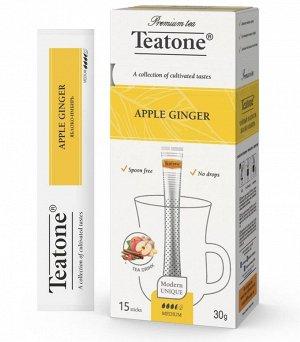 Чай Яблоко-Имбирь TEATONE 15стик*1.8г