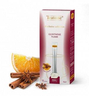 Чайный напиток Глинтвейн TEATONE 15стик*1.8г