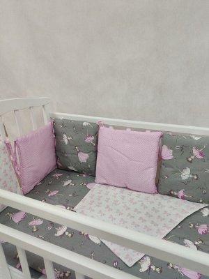 Бортики в кроватку Маленькая балерина