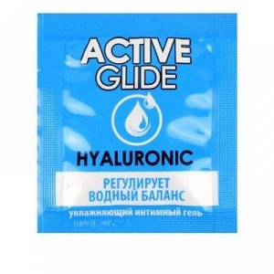 Увлажняющий интимный гель ACTIVE GLIDE HYALURONIC, 3 г